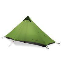 ingrosso tende gonfiabili campeggio familiare-2018 LanShan 1 FLAME'S CREED 1 persona Oudoor Tenda da campeggio ultraleggera 3 Season Professional 15D Silnylon Rodless Tent