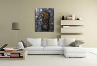 ingrosso pittura ad olio astratta di arte astratta-Wholesale pittura ad olio astratto disegnare Adornamento foto dipinte Gli animali marini Famiglia manifesto arte