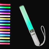 Wholesale Led Flashing Novelties Wholesale - 18 Colors 3W LED light stick Shining Glow Stick variable Shining stick DJ party Flashing Glow Novelty Items FFA305 60PCS