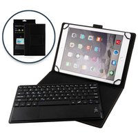 ingrosso tablet di samsung samsung della tastiera del bluetooth-Custodia universale in pelle 2 in 1 Custodia in pelle magnetica per Bluetooth Custodia in pelle con supporto per iPad Pro 9.7 Tablet Samsung