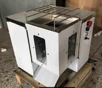 cortar máquinas de tira venda por atacado-250kg / hr carne Dicer máquina carne Cuber pode cortar em tiras e cortar Slicer