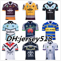Wholesale green army men - 2018 nrl jerseys rugby league Storm BRONCOS Cowboys KNIGHTS Eels Roosters rugby jerseys New South Wales Blues State Melbourne jerseys S-3XL