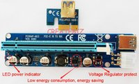 Wholesale laptop pcie online - VER C VER008C Molex pin PCI E PCIE Express X to X Riser Card Extender cm USB3 Cable For Mining Bitcoin Miner