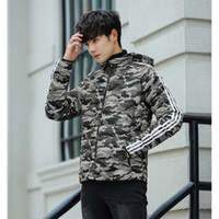 Wholesale coating siding resale online - Jacket for Male Designer Warm Reversible Autumn Coat Brand Jacket with Double sided Wearable Color Available Size M XL