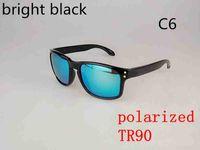 Wholesale Cycling Promotion - Promotion HOT SALE Brand TR90 Polarized Holbrook Sunglasses Men Women Sport Cycling Glasses 9102 Goggles Eyewear 10 color options MOQ=10pcs
