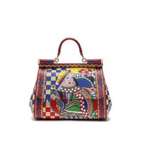 Wholesale Spring Summer Totes - 2018 spring and summer new lady's heart of Queen Sicily