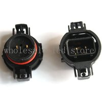 Wholesale signal adapter for sale - Group buy 2 pieces per for Car LED H16 socket base Fog lamp holder adapters LED PSX24W P19W
