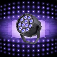Wholesale Dmx 512 Led Bar Lighting - 36W 12LED UV Bar Blacklight Stage Light for Stage KTV Party Pub Club Disco Show Concert Celebration
