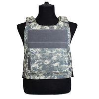 Wholesale training vests resale online - Tactical Camo Vest Men Camouflage Waistcoat SWAT Train Combat Paintball CS Game Equipment Protective Vest