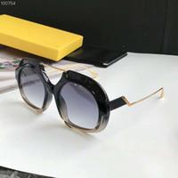 Wholesale girl s sunglasses online - 0316 S Crystal Black Sunglasses Grey Shades Sonnenbrille Luxury Brand Designer Sunglasses for Women Gafas de sol new with box