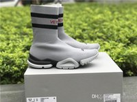 Wholesale High Speed Motorcycle - High Quality Luxury Sock Shoe Speed Trainer Running Sneakers Speed Trainer Sock Race Runners black Shoes men and women Sports Shoes 36-44