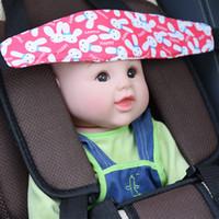 nouvelle poussette rose achat en gros de-2018 siège de sécurité de voiture positionneur nourrissons et bébé soutien de la tête landau poussette de fixation ceinture réglable