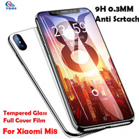 Wholesale a1 covers - Full Cover Glass Film For Xiaomi 8 Explorer 8se Tempered Glass Screen Protector Case For mi Mi MAX 2 MIX 2s A1 A2 Redmi S2 5A Note 5 Pro