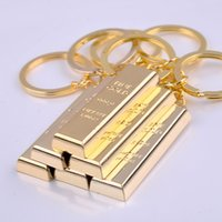 Wholesale gold chain designs for women online - Alloy Plated Gold Key Chain Metal Pendant Luxury Design Man Car Key Rings Unique Fashion Keys Buckle For Car Charms dn Z