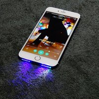 Wholesale Cool Night Lights - Details about Music Speaker LED Glow Night Cool Light Flash For Apple iPhone 7 Plus 6G 6s Plus