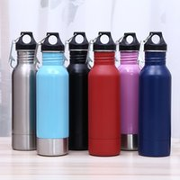 Wholesale cold bottles - 6 Color HOT Beer Bottle Armour Koozie Keeper 12OZ stainless steel bottle koozie Beer keeper Keep Cold with Bottle Openers car cups B