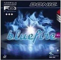 caoutchouc éponge bleu achat en gros de-Donic Blue fire M1 Bluefire Pips-in Éponge blanche laiteuse Caoutchouc De Tennis De Table Forte Spin Picots En Caoutchouc De Ping-Pong