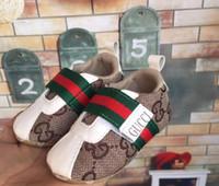 детская обувь из натуральной кожи оптовых-Детская обувь из натуральной кожи Первый ходунки мокасины Мальчик Девочка малыш обувь новорожденный обувь анти-скольжения мягкие дети детская обувь