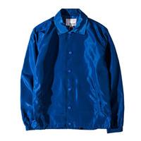 askeri tarz kış ceket erkek toptan satış-2018 Çift Sonbahar Kış Pilot Ceket Ordu Bombacı Ceket Askeri Tarzı Rüzgarlık Erkek Ceket Kamuflaj Ceket Erkekler Ve Kadınlar Için ceket