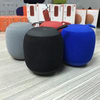 Wholesale g4 cars online - HIFI G4 bluetooth speaker Handmade network outdoor subwoofer support U disk TF card for mobile phone Car Audio DHL UPS