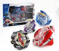 Wholesale puzzle box for kids online - 4pcs Beyblade BB804A Metal Funsion D With Launcher And Box Spinning Top Beyblade Set B34 B35 B41 B59 Puzzle Toys For Kids