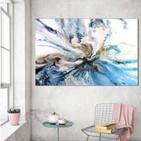 ingrosso incorniciato paesaggio di pittura ad olio grande-