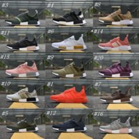 Wholesale Perfect Clear - 2018 NMD R1 Primeknit PK Perfect Best Quality Sneakers Fashion Running Shoes NMD Runner Primeknit Sneakers With Box