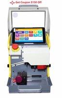 máquinas de corte portátiles al por mayor-Nueva máquina automática de corte de llave de 8,3 pulgadas SEC-E9 Máquina portátil de corte de llave inteligente portátil para coche SEC E9 Multi-Language