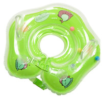 Wholesale baby swimming ring swim tube for sale - Group buy inflatable neck swimming ring baby swim floats adjusted baby Inflatable Tube Ring Safety swim pool toy