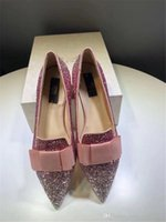 Wholesale embellished high heels - 2018 Fashion Ladies Jimm FC Choo Metallic Driver Embellished Glitter Pump Leather Romy Black Glitter Classic Pointy Toe High Heel With Box