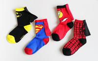 chaussettes de bébé à vendre achat en gros de-Les plus chaudes vente garçons filles tricotées chaussettes de bande dessinée enfants chaussettes douces bébé chaussettes pour enfants pour 4-6 ans expédition rapide