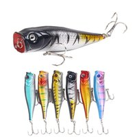 Wholesale minnow lure 9cm for sale - Group buy Fishing Lure Popper Lures Bait Colors cm G Artificial Bionic Minnow Fish Bait Black Hook Hard Bait Fishing Tackle