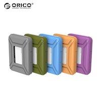 sabit sürücüler saklama kutusu toptan satış-Orico 3.5 Inç Sabit Disk Çanta Harici Depolama Hard Case HDD SSD Çantası için 3.5