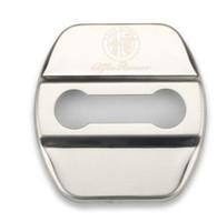 Wholesale 4pcs Auto Decoration Door Lock Cover Car Styling Case For Alfa Romeo Giulietta Stelvio Sticker Emblems Accessories