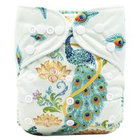 Reusable Baby Cloth Diaper Nappy Liners insert 3 Layers Cotton 35*14cm SC CA