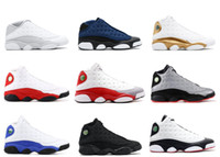 Wholesale cream for women resale online - 2018 with Box New Mens And Womens Basketball Shoes Sneakers for Men and Women S Black Cat Chicago Red French Blue Bred High