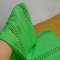 Wholesale green designer belt for sale - Group buy 2018 year green italy korea exfoliating shower towel body scrub cloth magic peeling towel long back wash cloth towel