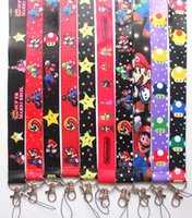 Wholesale anime cell resale online - cartoon Anime game Mobile Phone lanyard Cell Phone Straps Charms Key chain straps charms samll