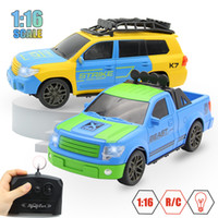 rc angetriebene autos großhandel-1:16 4CH RC Auto Fernbedienung Auto Batteriebetriebene Autos Modell Blinkende RC Brinquedo Controle Remoto Mit Radio Controller !!