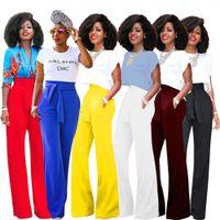 Wholesale wide leg cargo pants - Fashion Leisure Time Horn Wide Leg Six Color Optional Heat Sell Goods harem palazzo flare pants baggy cargo women loose trouser plus sizes