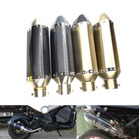 EFORCAR 1pcs Motorcycle Universal Exhaust Db Killer Muffler Adjustable Silencer for Length 4.8cm Outlet Dia