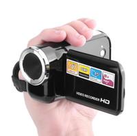 dijital kameralar yüksek yakınlaştırma toptan satış-DV180 Kamera Siyah 16MP Mini Video Kamera Ile 1.5