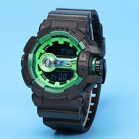 Wholesale men's sport watches for sale - 2018 top AAA Top men ga400 Sports led Watches LED Digital Wristwatch Waterproof S Shock Watch m All function Work with Original Box