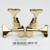 bass-stimmköpfe großhandel-R2L2 Tuning Pegs Keys Tuner Maschinen Kopf Bass Guitar Tuner WJB-650 Gold Gitarre Teile