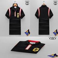 Wholesale size 16 clothing online - 2018Luxury Men T Shirt Brand Designer Plus Size Slim Fit Embroidery T Shirts Homme Short Sleeve Mens Brand Clothing Camisa Masculina Hot
