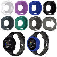 relógio gps de qualidade venda por atacado-NOVO de alta qualidade Silicone banda capa Case Pulseira Pulseira Protector Para Garmin Forerunner 235 735XT GPS Relógio Em Execução