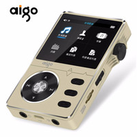 Wholesale lossless player - Aigo 108 Zinc Alloy HiFi High Quality Sound Lossless Music 2.2 Inches 8GB MP3 Player Support 32GB TF Card with Color Screen
