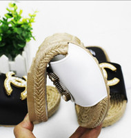 Wholesale Best Sell Wedding Dresses - Best selling fragrance female slippers flat summer non-slip platform shoes soft bottom sandals and slippers word brand design