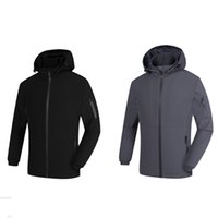 Wholesale Mens Overcoat Spring - Brand Designer Luxury Mens Jacket New Fashion Coat Casual Sports Overcoat Spring Autumn Long Sleeve Outerwear Print Hot Sale