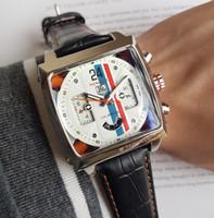 etiquetas de ventas al por mayor-Venta caliente de la marca todos los punteros funcionan marca TAG reloj de hombre 42 mm de lujo Reloj de hombre de calidad superior Relogio relojes de pulsera clásicos